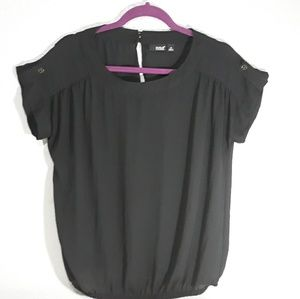 NWOT A.N.A |Black blouse| Size M